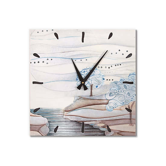 """""""L'Albero dei Sogni"""": orologio da parete 40x40 cm"""