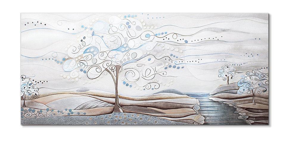 """""""L'Albero dei Sogni"""": quadro 140x63 cm"""