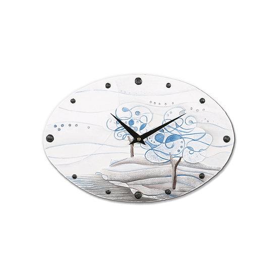 """""""L'Albero dei Sogni"""": orologio da parete 40x25 cm"""