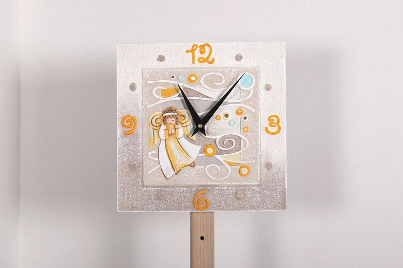 """Fuori Catalogo """"Memini"""": orologio da parete 28x28 cm"""