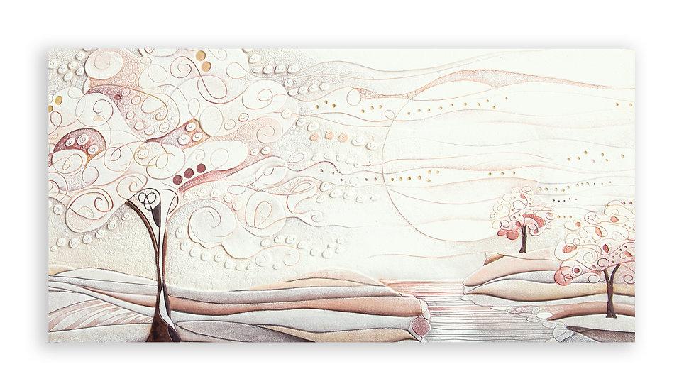 """""""L'Albero dei Sogni"""": quadro 100x50 cm"""