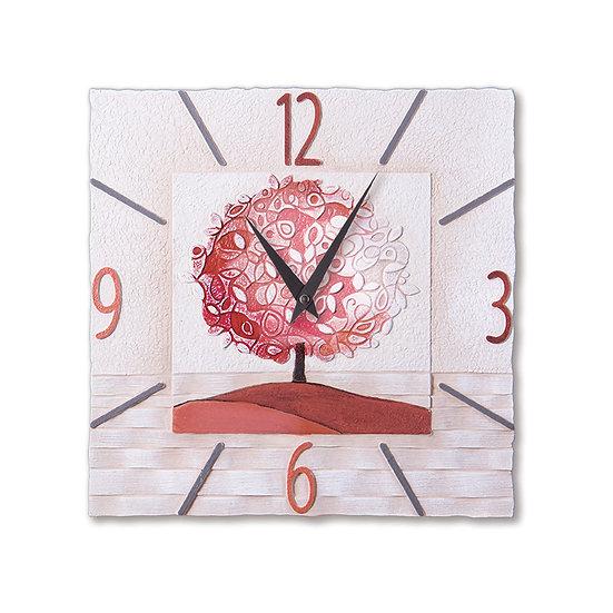 """""""Un Nuovo Orizzonte"""": orologio da parete 40x40 cm"""