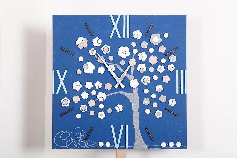 """Fuori Catalogo """"Seta"""": orologio da parete 55x55 cm"""