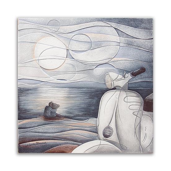 """""""Vento d'Estate"""": quadro 60x60 cm"""