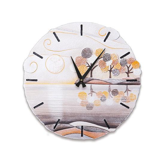 """""""Un Posto Tranquillo"""": orologio da parete ø 45 cm"""