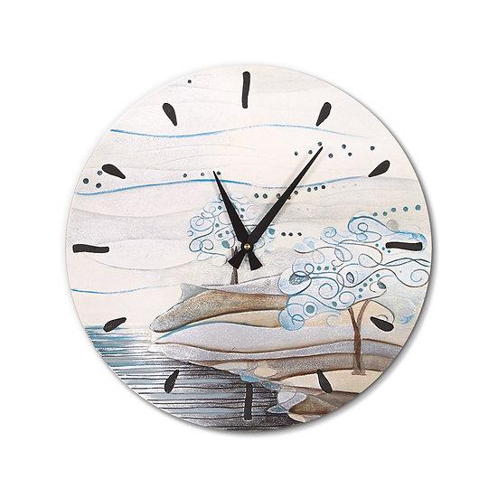 """""""L'Albero dei Sogni"""": orologio da parete ø 45 cm"""