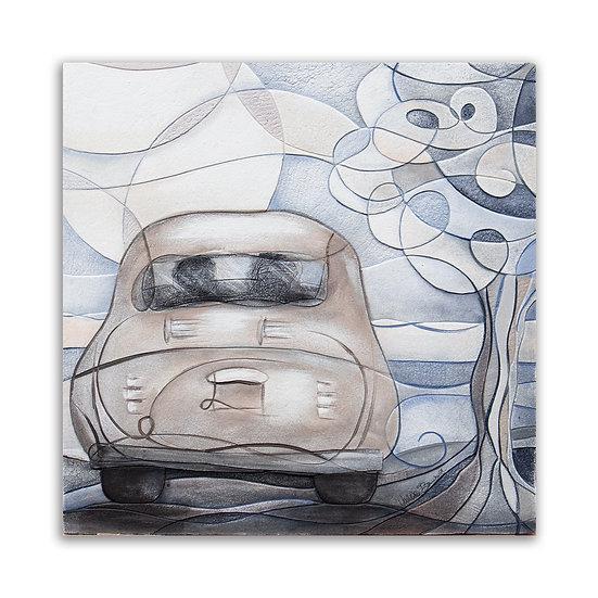 """""""Primo Amore"""": quadro 60x60 cm"""