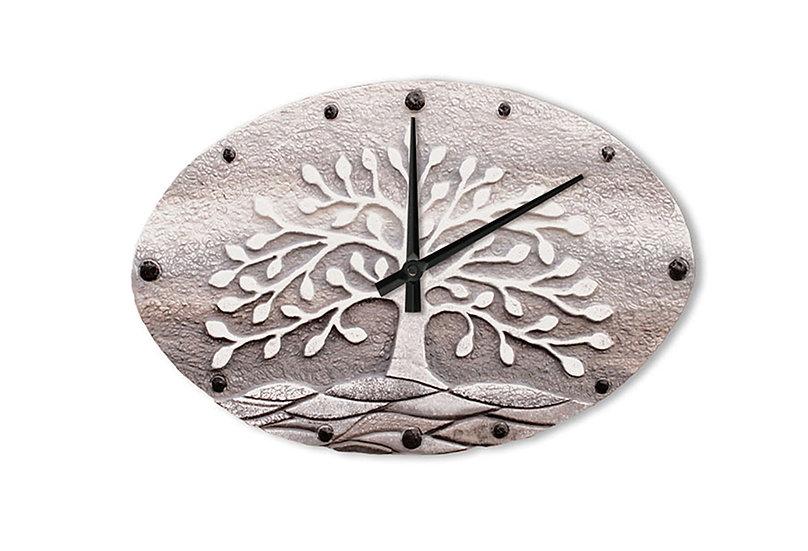 """""""Albero della Vita"""": orologio da parete 40x25 cm"""