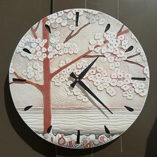 """Pezzo Unico """"La Prima Luce"""": orologio da parete Ø 45 cm"""
