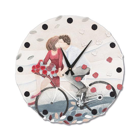 """Vieni Via con Me"": orologio da parete ø 45 cm"