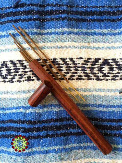 Timber Incense Holder