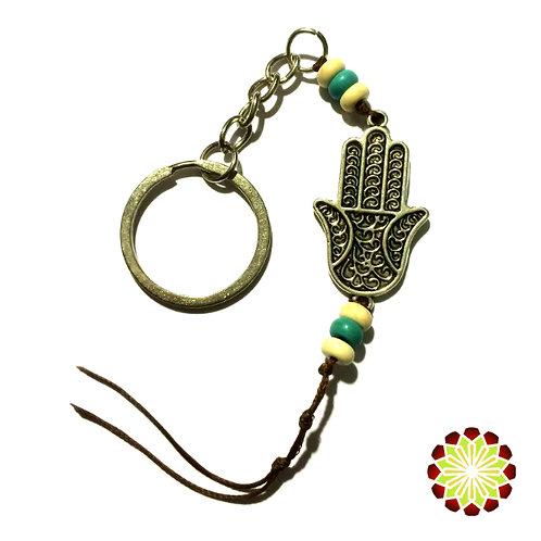 Buddha Hand Key Ring