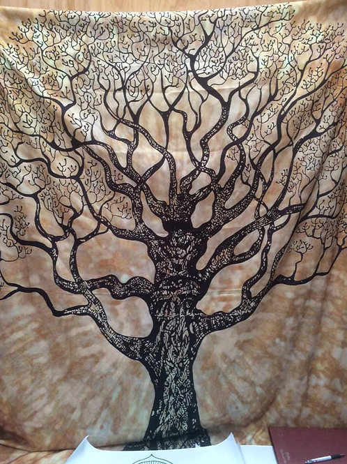 Wall Hanging Golden Tree