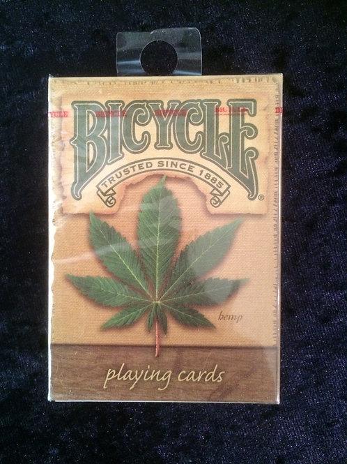Hemp Leaf Playing Cards