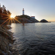 Lighthouse park sunrise