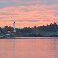 Fisgard lighthouse sunrise