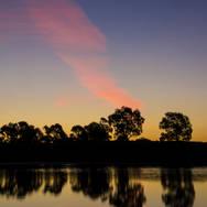 Sunset on Ballarat, VIC