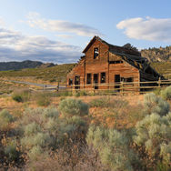 Old Haynes ranch house