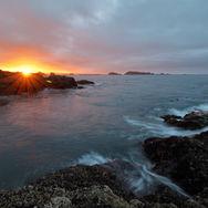 Amphitrite Point sunrise
