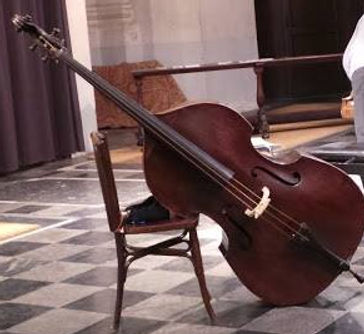 3 strings double bass
