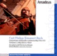 CD C.P.E.Bach - Enrico Bronzi - Accademia dell'Orchestra Mozart (front)