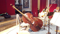 3 strings - recording with Orfeo55