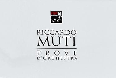 8 DVDs Riccardo Muti in Rehearsal