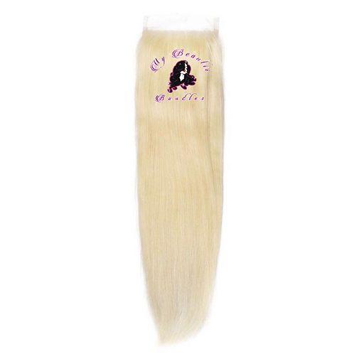 """""""BLONDE ME""""Silky Straight HD Lace Closure"""