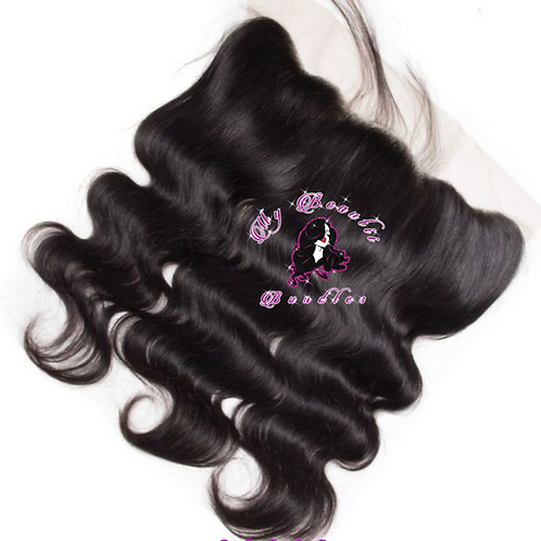 Body Wave HD Transparent Lace Frontal
