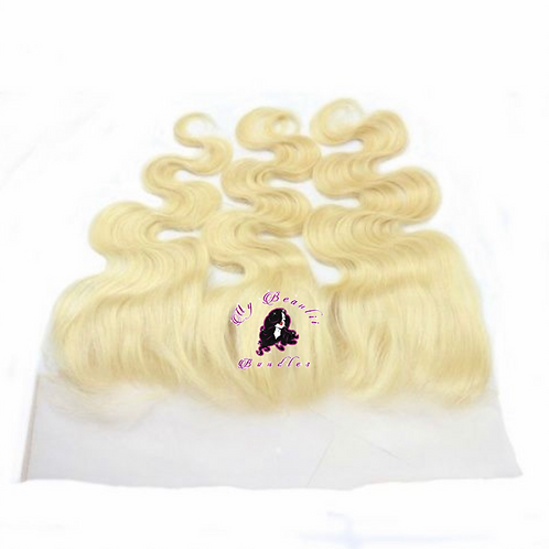 'BLONDE ME' Body Wave HD Lace Frontal