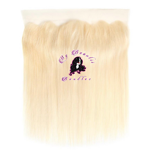 """""""BLONDE ME"""" HD Silky Straight Lace Frontal"""