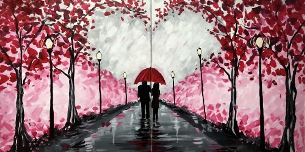 Paint Night -Valentine Stroll Partner Painting
