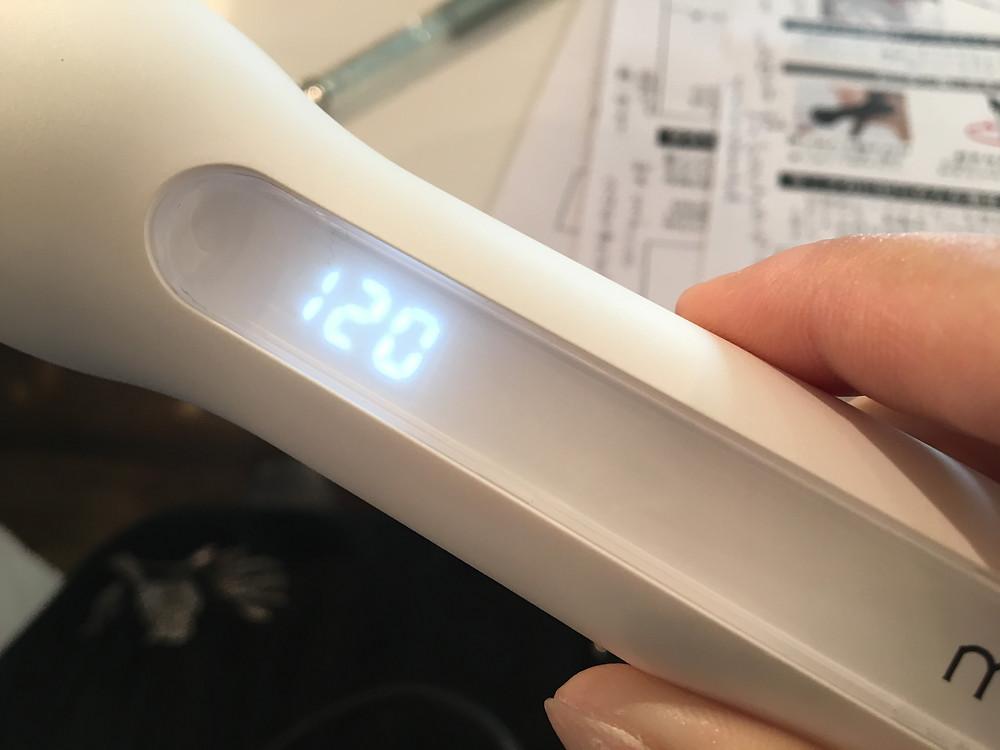 イージーカール温度