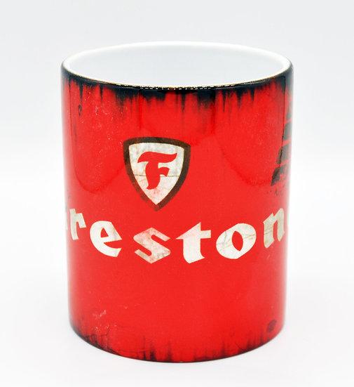 Firestone Tyres Oil, Mud and Racing 11oz Mug