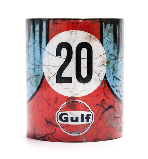 Porsche Gulf 20 917 Oil, Mud and Racing 11oz Mug