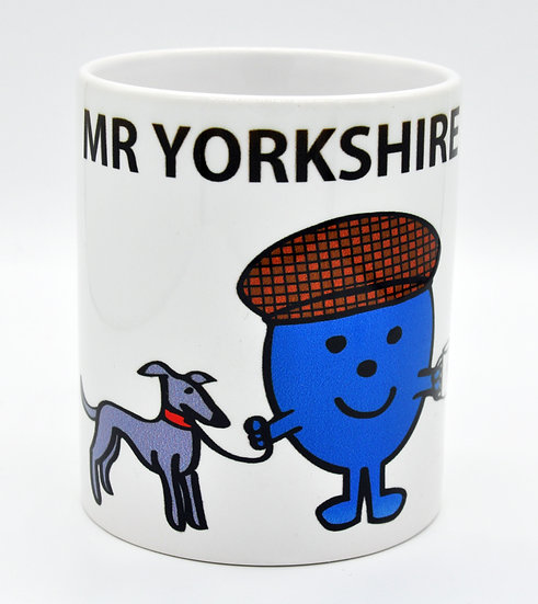 Mr Yorkshire Mister Men 11oz Mug