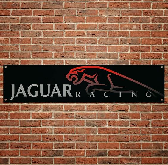 Jaguar Racing  PVC Banner (1300mm by 300mm)