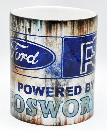Ford Cosworth RS Oil, Mud and Racing 11oz Mug