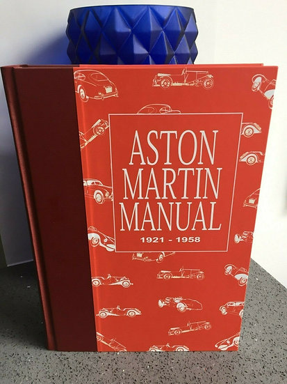 ASTON MARTIN Rare Dudley Coram  Workshop Manual 1921-58