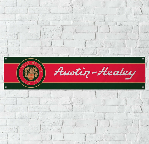 Austin Healey PVC Banner (1300mm by 300mm)