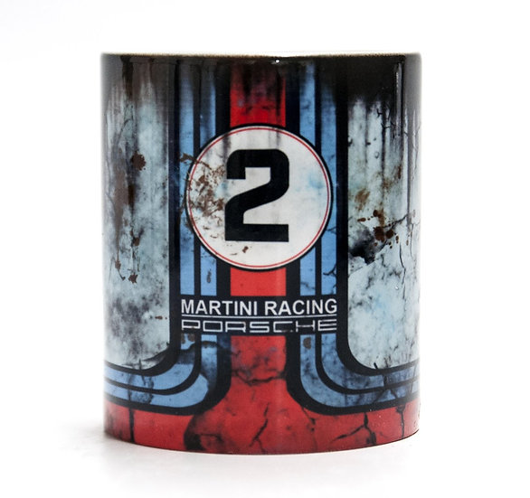 Oil & Racing 11oz Porsche Martini Racing Mug