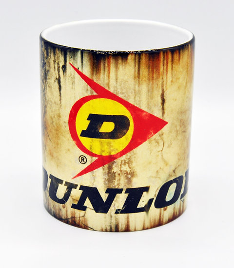 Dunlop Tyres Oil, Mud and Racing 11oz Mug