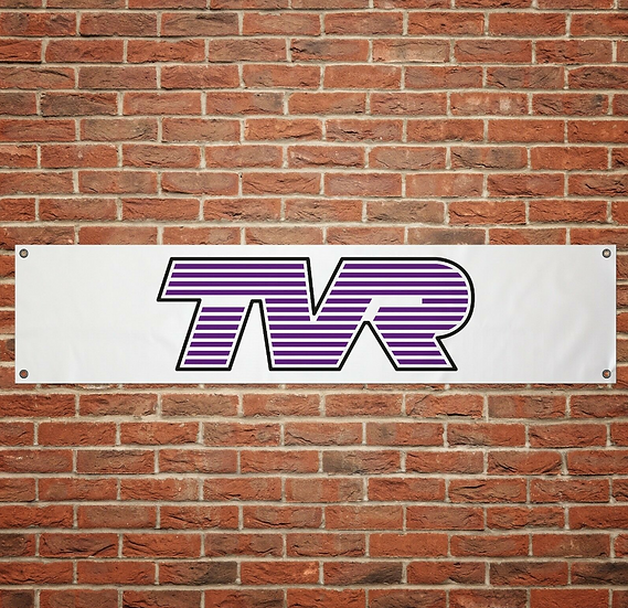 TVR Cars PVC Banner (1300mm by 300mm)