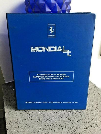 FERRARI MONDIAL T Factory Parts Manual / Catalogue 1989