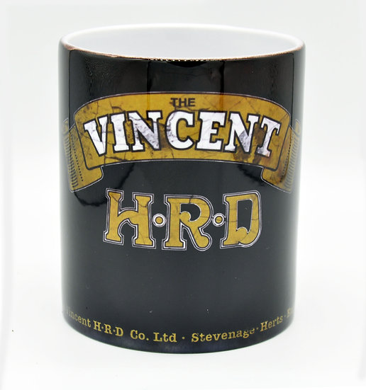 Vincent HRD Black Shadow Motorcycle Oil, Mud and Racing 11oz Mug