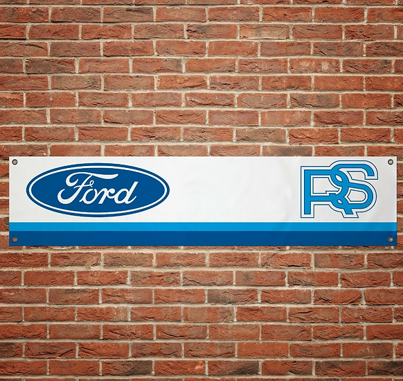Ford Cosworth RS PVC Banner (1300mm by 300mm)