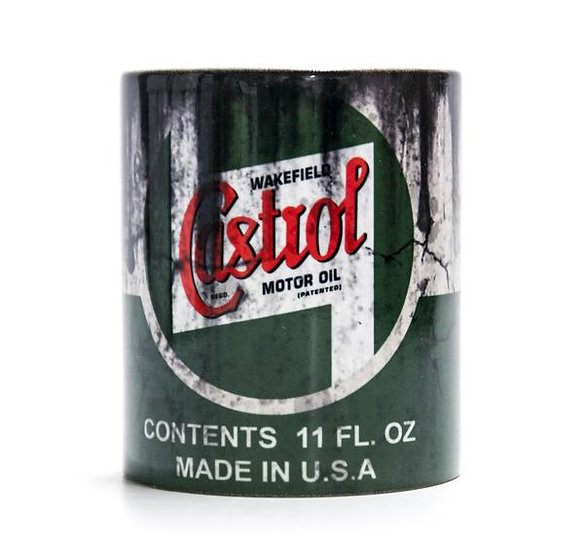 Castrol Heritage  Oil, Mud and Racing 11oz Mug