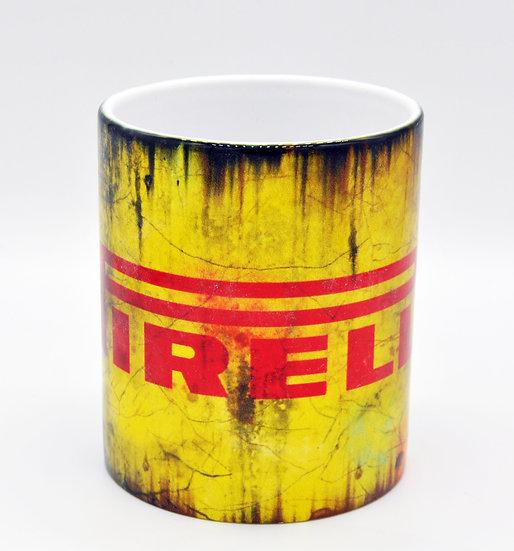 Pirelli Tyres Oil, Mud and Racing 11oz Mug