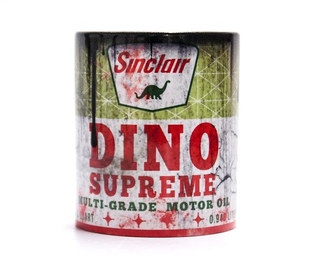 Sinclair Dino Supreme Oil, Mud and Racing 11oz Mug
