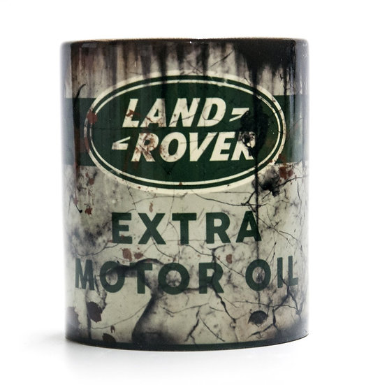 Land Rover Motor Oil, Mud and Racing 11oz Mug